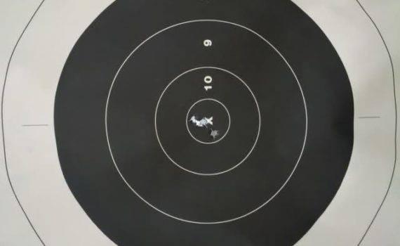 manatee gun club paper target